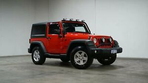 2014 Jeep Wrangler JK MY2015 Sport Red 6 Speed Manual Softtop Welshpool Canning Area Preview