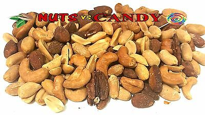 Fresh Roasted Mixed Nuts Salted 3 lb Same day shipping