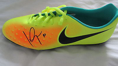Signed LUIS GARCIA Nike Football Boot! Liverpool Spain Barcelona Messi Gerrard