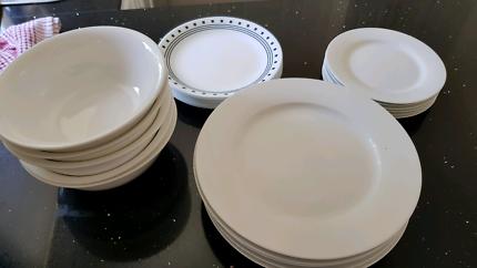 White Porcelain Set