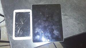 Galaxy tab and ipad 2