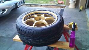 Advan Racing RG 17x7.5, 17x8.5 in Gold Joondalup Joondalup Area Preview