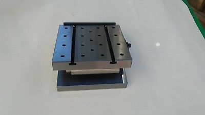 """ANGLE PLATE 6x6x4x1-1//4/"""" Precision Ground w tapped holes 0.0002/"""" #PGAP-664-New"""