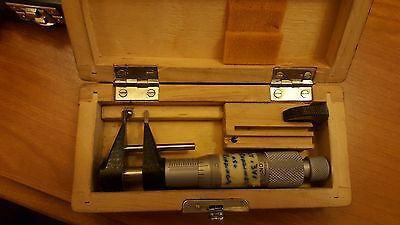 Vis Fowler Poland Micrometer Ratchet Gauge .2 - 1.2 W Insert .001  - 275-001