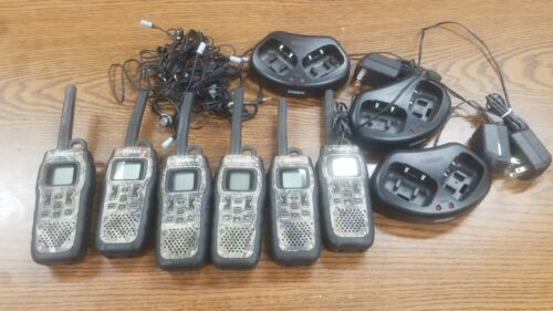 LOT OF SIX Uniden GMR5099 submersible 50-mile 22-channel FRS/GMRS realtree camo