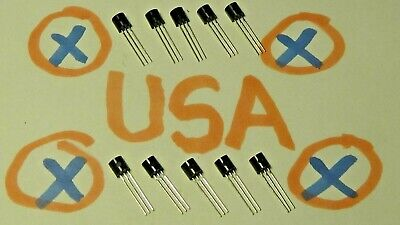 10 Pcs - 2n7000 Mosfet - 200ma - 60v - To-92 - Usa Seller - Ships Today