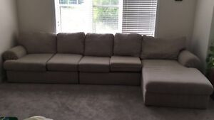 L shaped sofa/couch