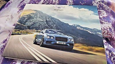 Bentley Flying Spur MY18 HARDBACK Brochure 99 pgs V8, V8S W12 & W12S