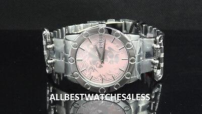 Versusu Versace VSP721517 Miami Silver Tone Faux Pin Design Women's Watch