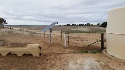 Solar Pump complete system - submersible, bore, dam, creek