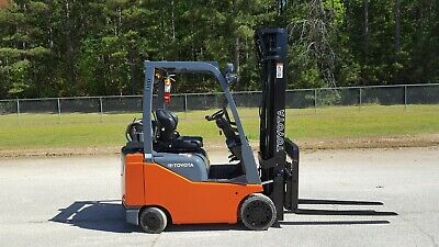 2015 Toyota 8fgcu18 Forklift Truck 217.5 Side Shift New Paint