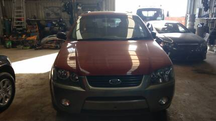 2004 FORD TERRITORY TX AWD AUTOMATIC 7 SEATER Churchill Latrobe Valley Preview