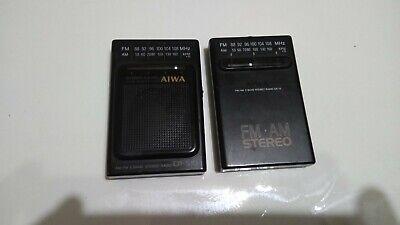 Vintage stereo receiver aiwa  cr-s10 y aiwa cr-15 segunda mano  Embacar hacia Mexico