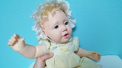 "Vintage Hasbro Artist Doll by J Turner 19"" Real Girl Baby Doll 1984"