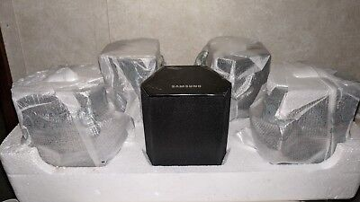 Theater Surround Sound Samsung Speakers PS-FS1-1 Complete Set