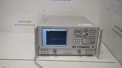 Agilent E8358a 300 Khz To 9 Ghz 2-port Network Analyzer Op 10 15