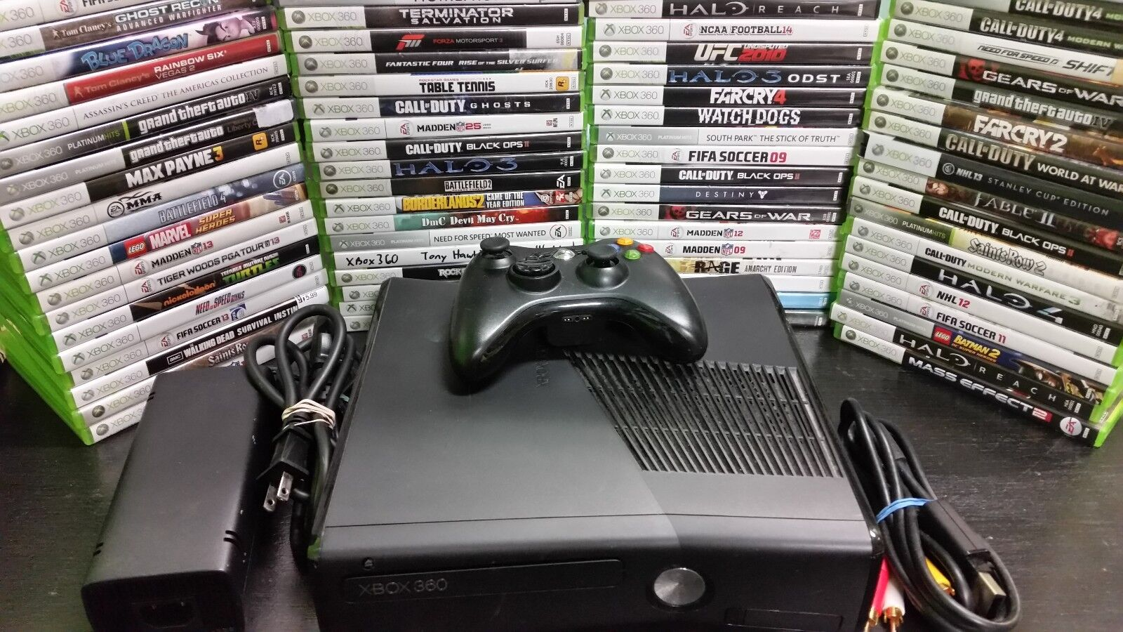 Xbox 360 - Microsoft Xbox 360 4gb, 250gb, 320gb system console with games