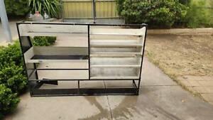 Shelves for van