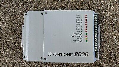 Sensaphone 2000 Autodialer Telemetry Remote Monitoring System