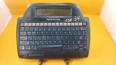 Alphasmart 3000 Portable Word Processor Alpha Smart .