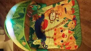 Fun playmat for a baby