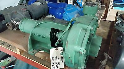Deming 3 Suction 2 Discharge Bare Pump Bronze Fitted