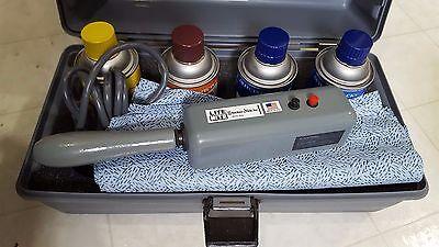 Blacklight Spray (NEW Stocker & Yale Lite-Mite Black Light UV Flaw Crack Detector w/ 4 Spray)