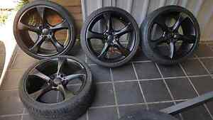 Black holden rims 19inch Wattle Grove Liverpool Area Preview
