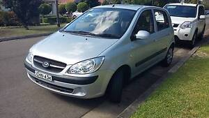 2010 Hyundai Getz Hatchback Manual Denistone East Ryde Area Preview