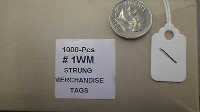 Hang Tags 1000pcs Per Box White Jewelry Necklace Small Blank Clothing Very Small