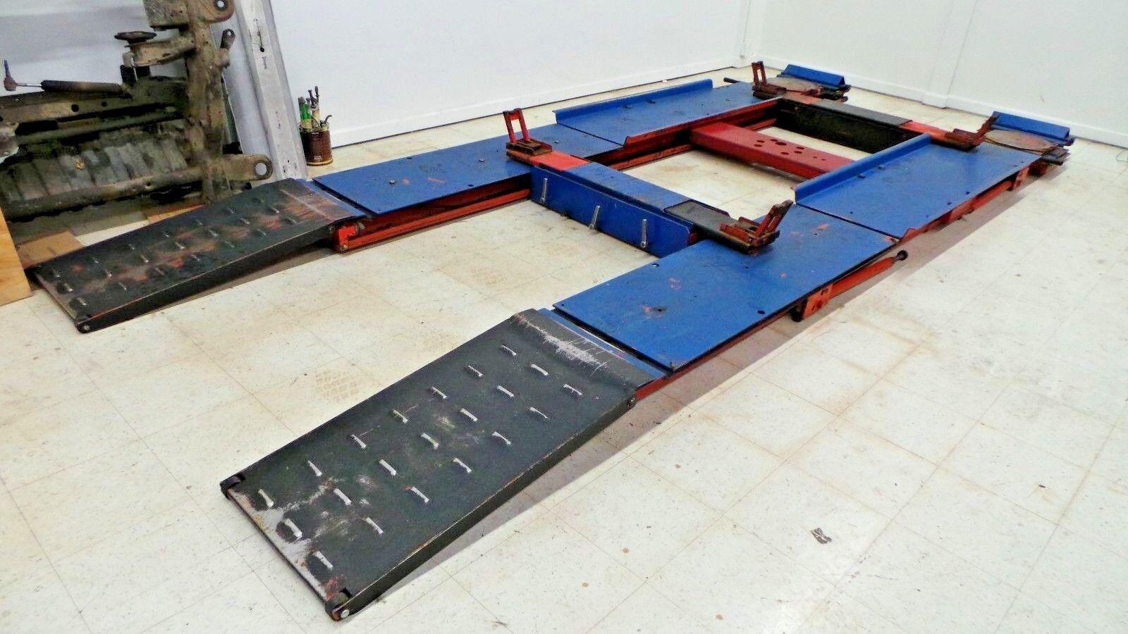 Hunter Engineering Wheel Alignment Rack Lift Air Jacks Turnplates Turntables