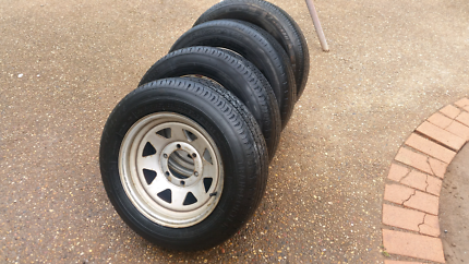 Rodeo Sunraysia rims and tyres