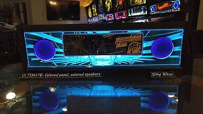 Demolition Man DM - Lighted Pinball LED Speaker Panel - ULTIMATE