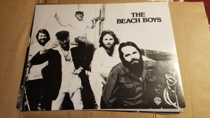 Beach Boys Promo Poster 1970s Nm wb cardboard