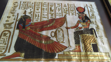 Beautiful Papyrus Egyptian picture.