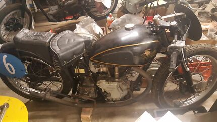 For Sale or Swap******1950 velocette macs 350cc
