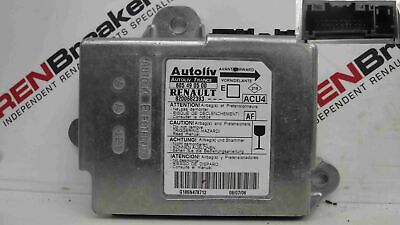 Renault Megane + Convertible 2002-2008 Air Bag Module ECU Computer 8200682393