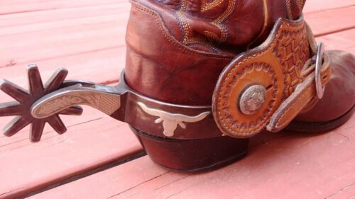 vintage R F Ford used spurs made in TX no.1041