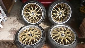 Manaray VRS wheels  5x114.3 Engadine Sutherland Area Preview