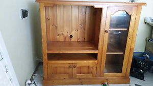 Traditional Solid Timber TV Unit Middleton Grange Liverpool Area Preview