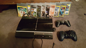 Playstation 3 and 10 games Davoren Park Playford Area Preview