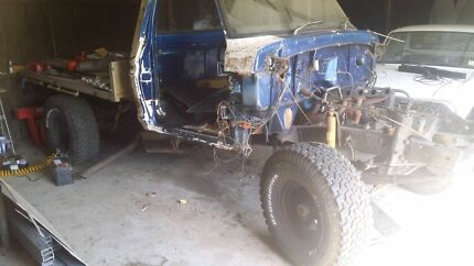 Ford F100 4x4 Chassis 35 inch Tyres St Marys Break ODay Area Preview
