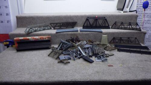 HO Bridges and Trestles Lot for parts or repair