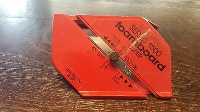 - Logan FoamWerks Series1500 Professional  Foamboard Bevel Cutter 45 & 90 Degrees