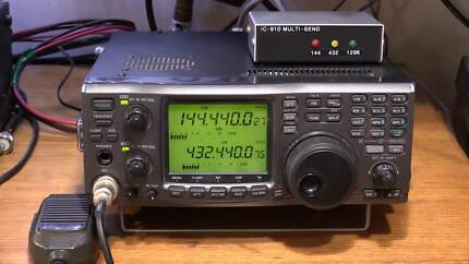 Icom IC-910H with UX-910 CR-293 UT-106 MB-23 in VGC