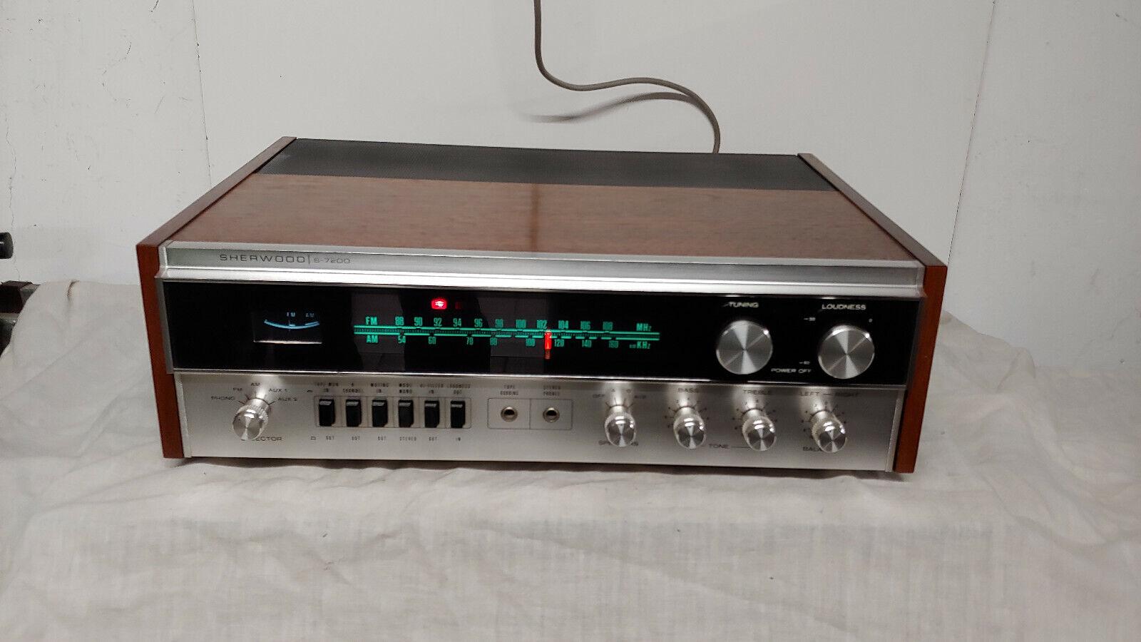 Ampli tuner sherwood s-7200 audiophile révisé