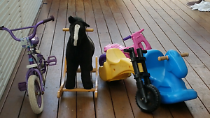 Kids bikes and rocking horses Frenchs Forest Warringah Area Preview