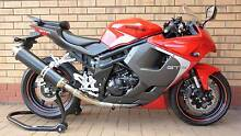 HYOSUNG GT650R 2013 EFI SPORTS *AS NEW * Learn Legal Books/Keys Happy Valley Morphett Vale Area Preview