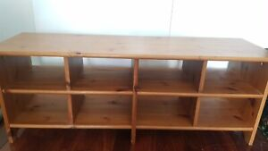 TV unit and 6 dining chairs