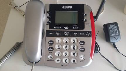 PHONE -UNIDEN SSE27 LARGE DISPLAY PERFECT HEARING IMPAIRED